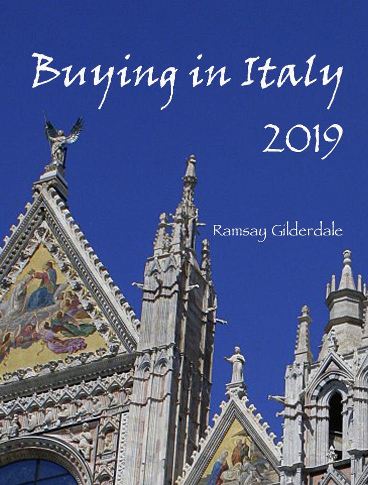 Buying in Italy 2019